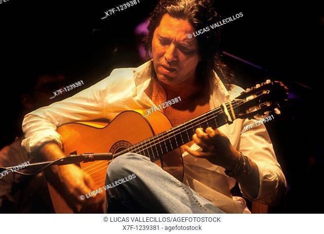 `Tomatito'José Fernández Torres  Flamenco guitarist  La Maestranza theatre  Seville, Andalusia, Spain
