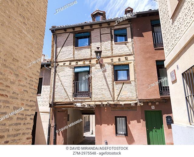 Judería. Segovia. Castilla León. España. Ciudad patrimonio de la humanidad. Unesco