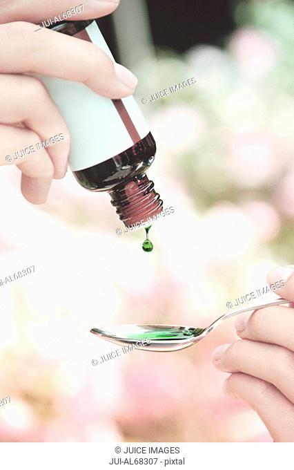 Drops of medicine