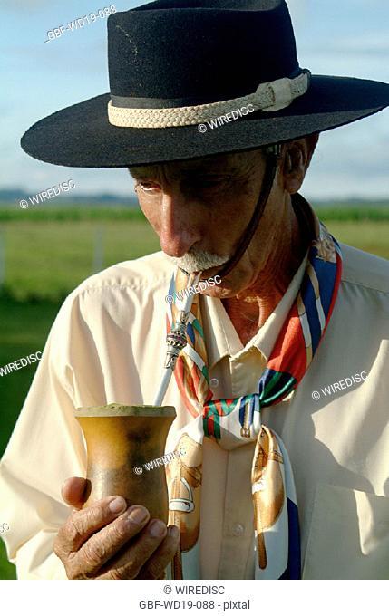 Drink, mate, Rio Grande do Sul, Brazil