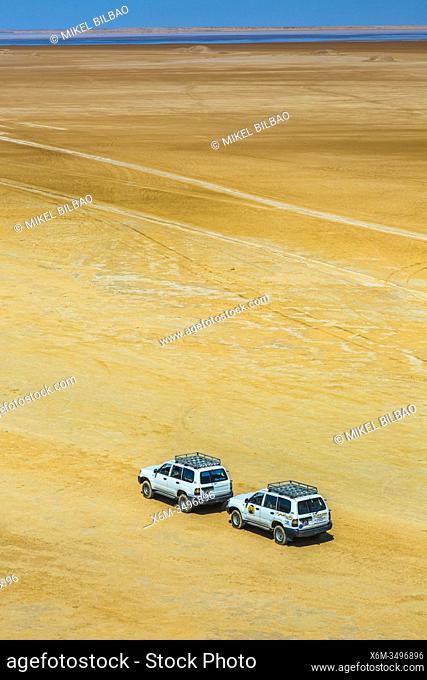 Sahara desert close to Tozeur city. Tunisia, Africa