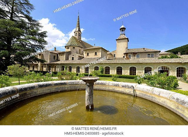 France, Gard, Saint Paulet de Caisson, Chartreuse de Valbonne (13th century) Historical Monument