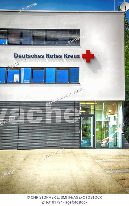 German Red Cross Ambulance Station in Ulm, Germany