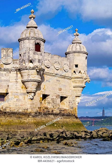 Tower of St Vincent, Belem, Lisbon, Portugal