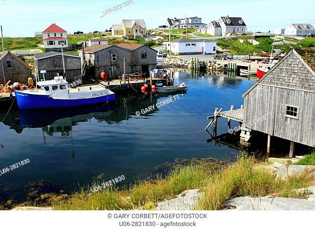 Peggy's Cove Nova Scotia Canada