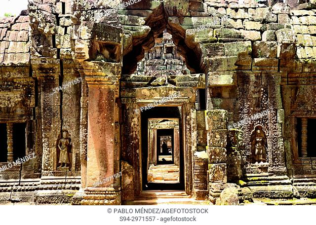 Temple of Ta Som, Angkor area, Siem Reap, Cambodia
