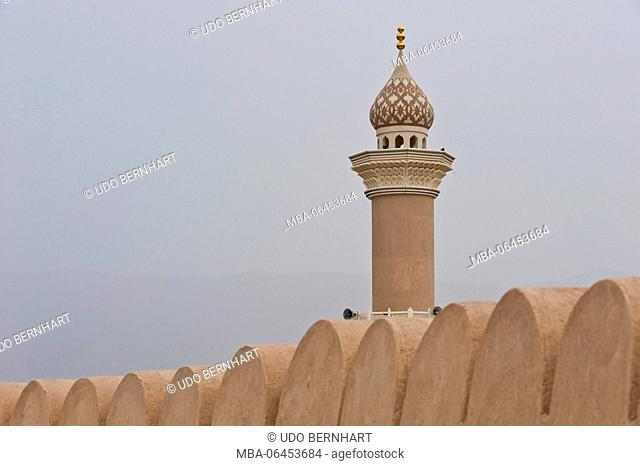 Arabia, Arabian peninsula, Sultanate of Oman, Nizwa, fort
