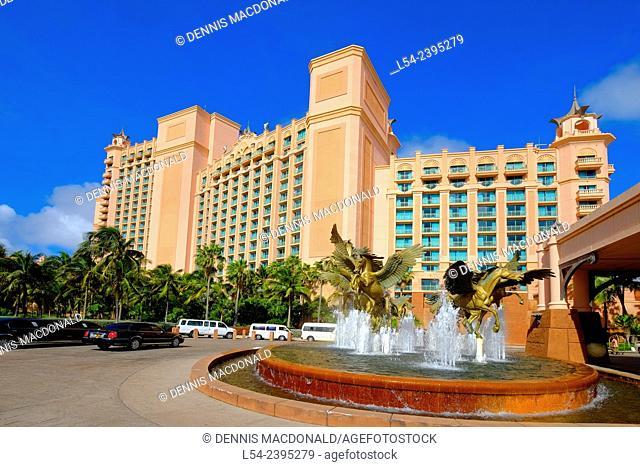 Atlantis Resort Paradise Island Nassau Bahamas Cruising Southern Caribbean on the Norwegian Getaway cruise ship