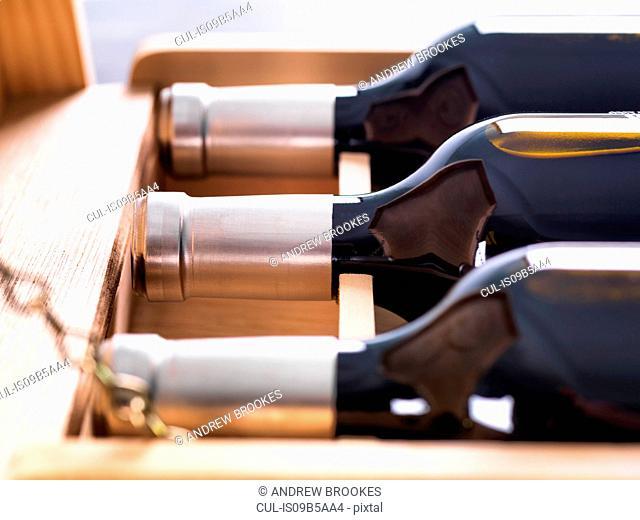 Wine Investment, case of vintage fine wines