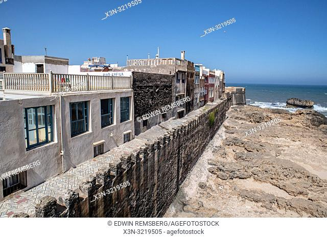 Homes Along the Shore of Essaouira, Marrakesh-Safi, Morocco