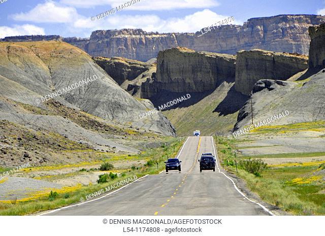Highway 24 Capitol Reef National Park Utah
