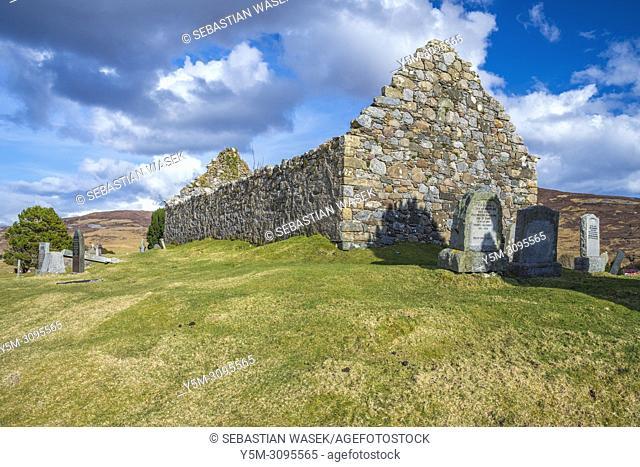 Cill Chriosd, B8083 Broadford to Torrin and Elgol road, Isle of Skye, Scotland, Europe