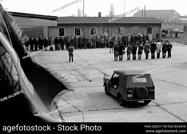 01 January 1980, Brandenburg, Leipzig: During the military spartaciade at the beginning of the 1980s at the Karl Marx University of Leipzig