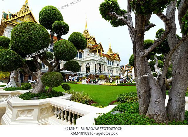 Phra Thinang Chakri Maha Prasat buildings  Grand Palace  Bangkok, Thailand