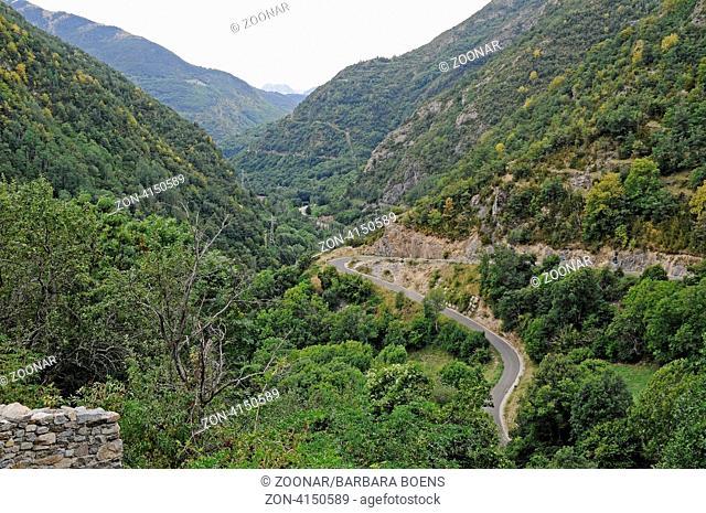landscape, Coll, La Vall de Boi, Pyrenees, Lleida province, Catalonia, Spain, Europe, Landschaft, Coll, La Vall de Boi, Pyrenaeen, Provinz Lleida, Katalonien