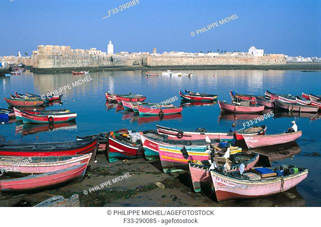 View of the city El Jadida in Morocco