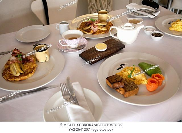 Manna Epicure Cafe, Breakfast on Kloof Street in cape Town - South Africa