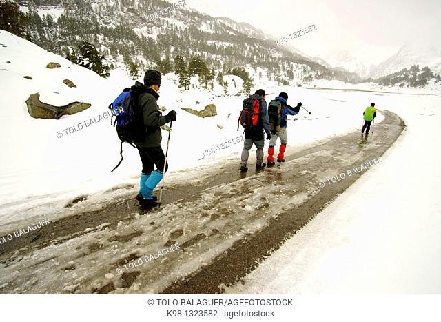 Plan D' Estan, Are Benasque Valley Pyrenees Aragon Spain Huesca