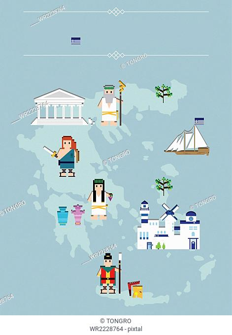 Global landmarks in Greece