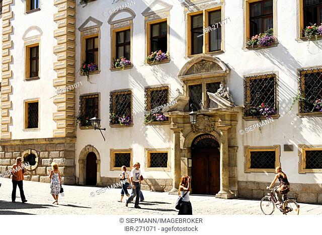 Town Hall, Regensburg, Upper Palatinate, Bavaria, Germany