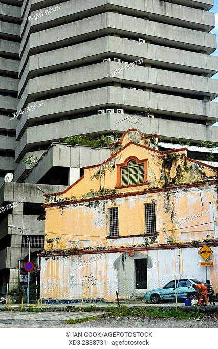 Colonial and modern architecture, Kuala Lumpur, Malaysia