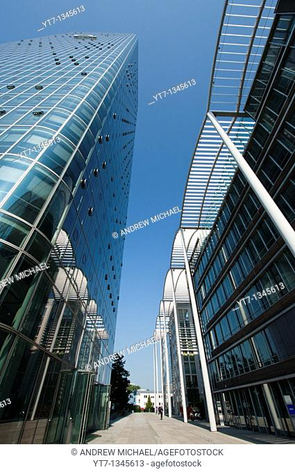 Modern architecture in Munich  Germany