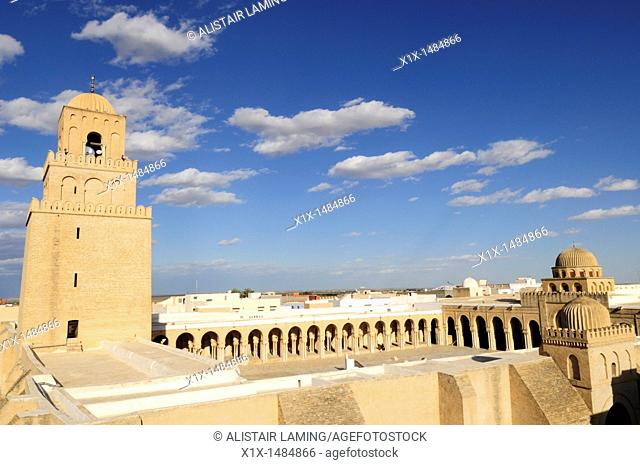The Great Mosque, Kairouan, Tunisia