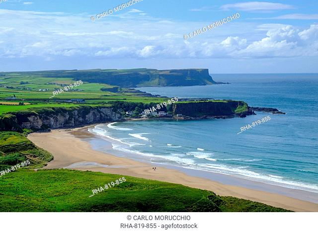 White Park Bay, County Antrim, Ulster, Northern Ireland, United Kingdom, Europe