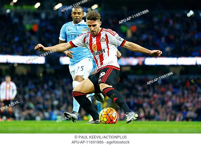 2015 Barclays Premier League Manchester City v Sunderland Dec 26th. 26.12.2015. The Etihad, Manchester, England. Barclays Premier League