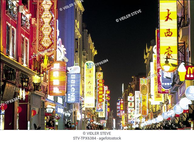Asia, China, City, Guandong, Guangzhou, Holiday, Landmark, Nightlights, Province, Street, Tourism, Travel, Vacation, Xiajiu