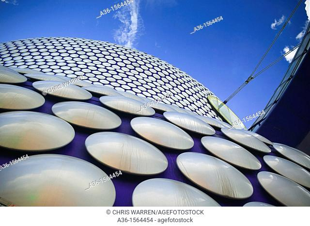 selfridges building, bull ring shopping mall, Birmingham, West Midlands, England