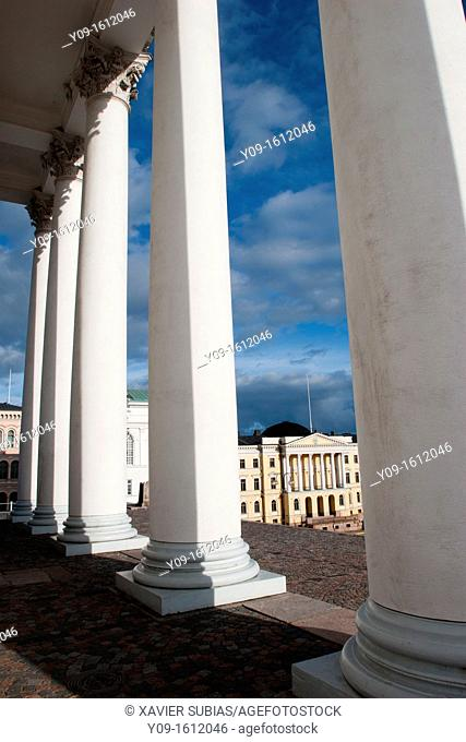 Government Palace, Helsinki, Uusimaa, Finland