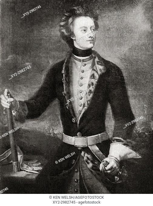 Charles XII, also Carl, 1682 - 1718. King of Sweden. From Hutchinson's History of the Nations, published 1915