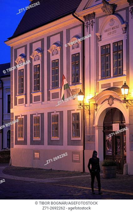 Hungary, Veszprém, Dubniczay Palace,