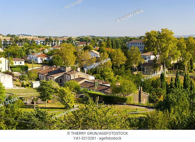 France, Gers (32), town of Lectoure on the way of Saint Jacques de Compostelle