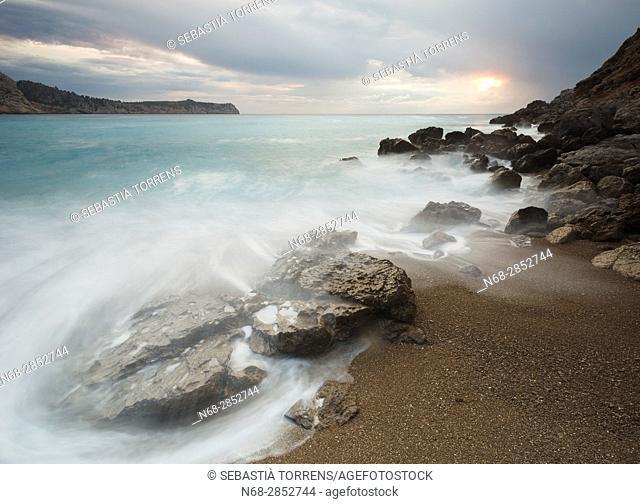 Es Coll baix, Alcúdia, Majorca, Balearic Islands, Spain