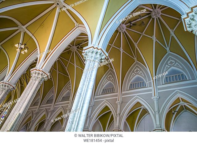 Canada, New Brunswick, Miramichi, St. Michael's Basilica, interior