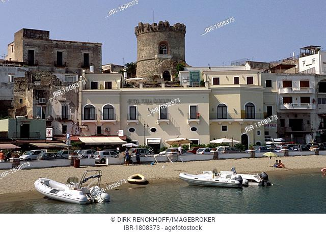 Forio on the west coast, Ischia, Italy, Europe