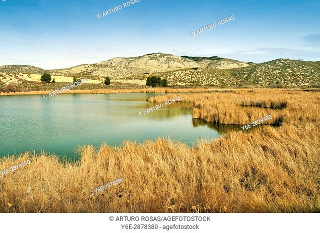 Mar de Ontígola Reservoir in Aranjuez, Madrid. Spain