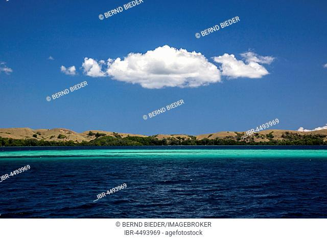 Island world, Komodo National Park, Flores, East Nusa Tenggara, Indonesia