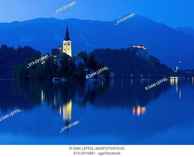 Island and Castle, Lake Bled, Slovenia