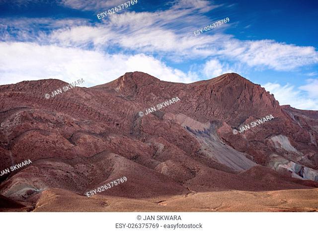Travel destination - Nomad Valley close to Boumalne Dades, Atlas Mountains, Morocco