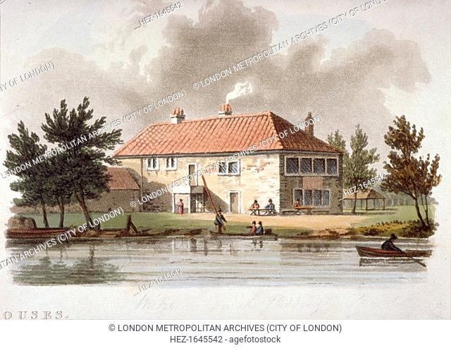 The Mitre Tavern on the Paddington Canal, London, c1810