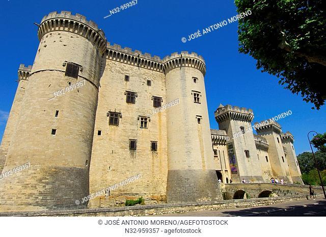 King René's Castle, Tarascon. Bouches-du-Rhône, Provence-Alpes-Côte d'Azur, France