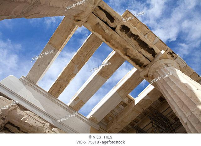 The Acropolis is seen in Athens the Capital of Greece - , 23/01/2014