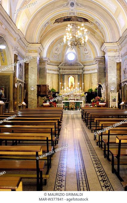 san marciano church, taurasi, campania, italia