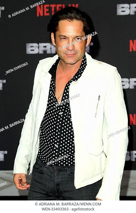Premiere of Netflix's 'Bright' held at the Regency Village Theatre - Arrivals Featuring: Enrique Murciano Where: Los Angeles, California