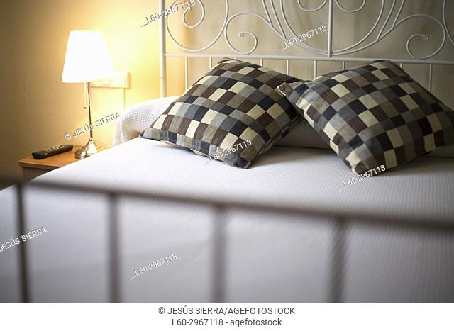 Bed in Hotel