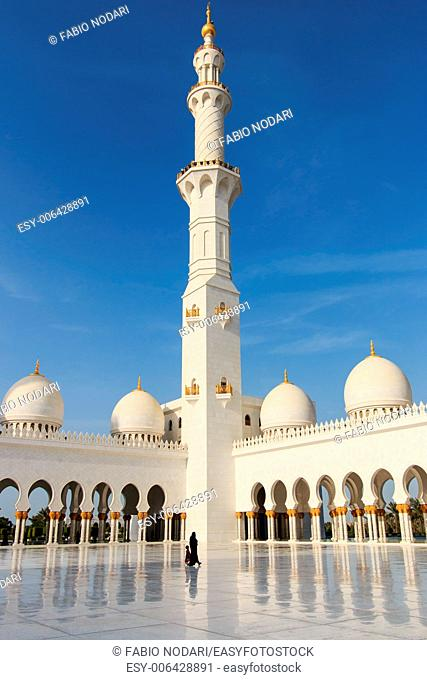 Sheikh Zayed mosque in Abu-Dhabi