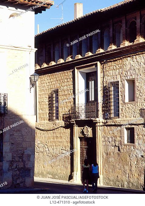 Manor house, Monreal del Campo. Teruel province, Aragón, Spain